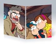 Купить общие тетради Gravity Falls