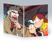 Общая тетрадь Gravity Falls