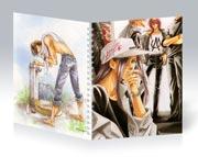 Купить общие тетради Mamiya Oki Art