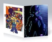 Общая тетрадь Mega Man