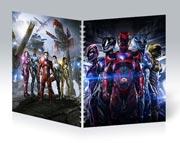 Общая тетрадь Power Rangers