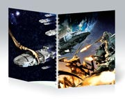 Купить общие тетради Starship Troopers