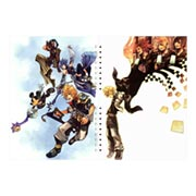 Купить лекционные тетради Kingdom Hearts