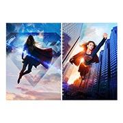 Лекционная тетрадь Supergirl