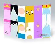 Купить школьные дневники Adventure Time