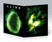 Тонкая школьная тетрадь Alien