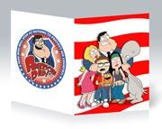 Купить тонкие школьные тетради American Dad