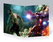 Тонкая школьная тетрадь Avengers