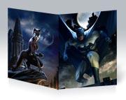 Тонкая школьная тетрадь Batman