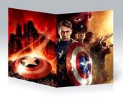 Купить тонкие школьные тетради Captain America