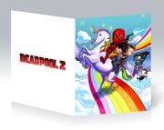Купить тонкие школьные тетради Deadpool
