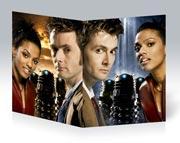 Тонкая школьная тетрадь Doctor Who
