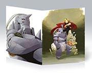 Купить тонкие школьные тетради Fullmetal Alchemist