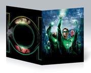 Тонкая школьная тетрадь Green Lantern