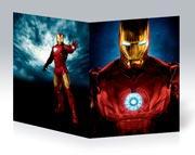 Тонкая школьная тетрадь Iron Man