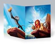 Купить тонкие школьные тетради Lion King