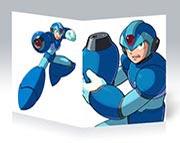 Тонкая школьная тетрадь Mega Man