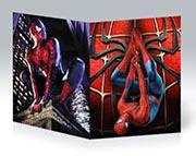 Тонкая школьная тетрадь Spider-man