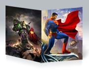 Купить тонкие школьные тетради Superman