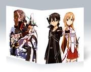 Купить тонкие школьные тетради Sword Art Online