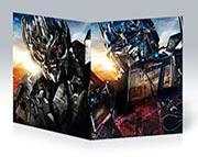 Тонкая школьная тетрадь Transformers