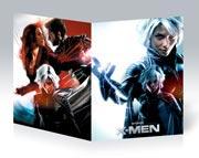 Тонкая школьная тетрадь X-Men