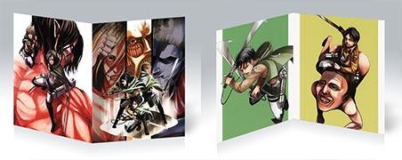 Тетрадь для конспектов по аниме/манге Shingeki no Kyojin