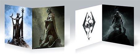 Тетрадь для конспектов по аниме/манге Skyrim