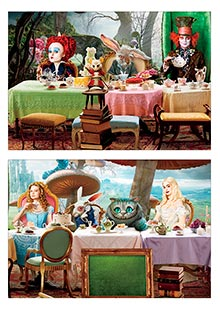 Купить школьные альбомы для рисования Alice in Wonderland