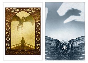 Школьный альбом для рисования по аниме/манге Game of Thrones