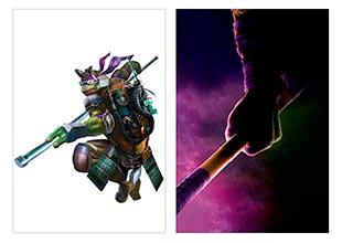 Школьный альбом для рисования Ninja Turtles