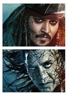 Школьный альбом для рисования по аниме/манге Pirates of the Caribbean