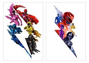 Школьный альбом для рисования Power Rangers