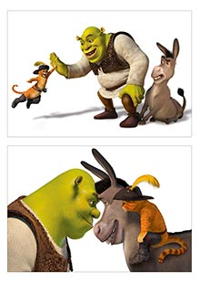 Купить школьные альбомы для рисования Shrek
