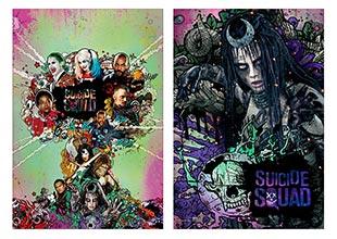 Купить школьные альбомы для рисования Suicide Squad