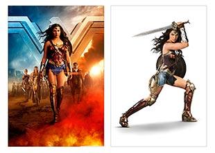 Школьный альбом для рисования Wonder Woman