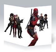 Купить студенческие тетради Deadpool